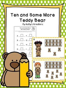 Teen Numbers Ten And Some More Teddy Bear