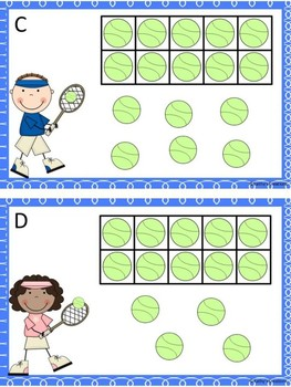 Teen Numbers Ten And Some More Tennis