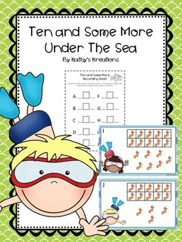 Teen Numbers Ten And Some More Under The Sea Seahorses