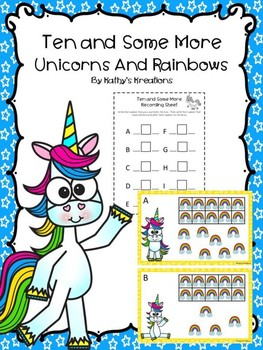 Teen Numbers Ten And Some More Unicorns And Rainbows