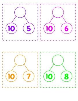 Teen Numbers Ten and Some Ones