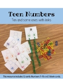 Teen Numbers Ten and Some Ones