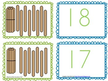 Teen Numbers--Ten and what number Memory