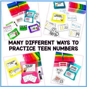 Teen Numbers- Work Tasks #springdollardeals