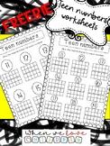 Teen Numbers Worksheet