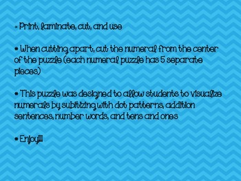 Teen Numbers, adding, subtilizing, tens, ones, numerals, number words