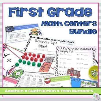 Teen Numbers and Operations Bundle
