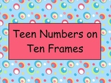 Teen Numbers and Ten Frames - Mimio