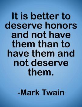 Teen Perspective Posters: Mark Twain