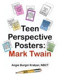 Teen Perspective Posters: Mark Twain