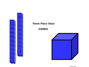 Teen Place Value Games