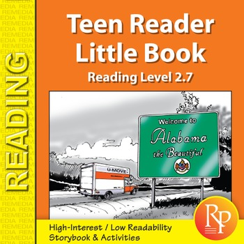 Teen Reader Little Book: Moving is Not Beautiful