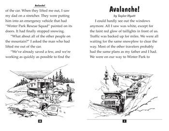 Teen Reader Little Book: Avalanche!