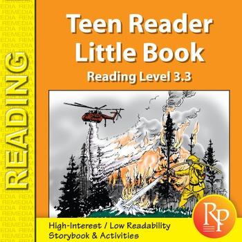 Teen Reader Little Book: Fire at Sunnywoods