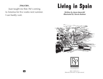Teen Reader Little Book: Living in Spain