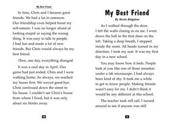 Teen Reader Little Book: My Best Friend