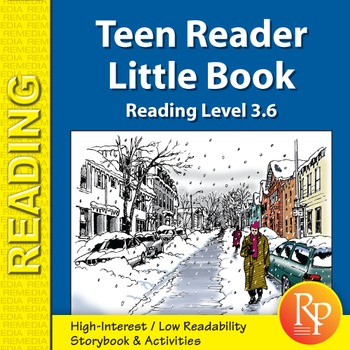 Teen Reader Little Book: The Ice Storm