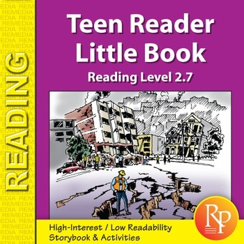 Teen Reader Little Book: Why is Everything Shaking?