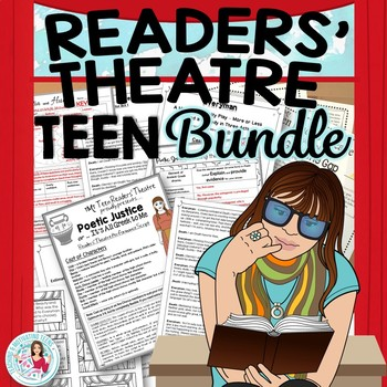 Reader's Theater Teen Bundle: 3 Scripts with Lessons + Resources, Middle & High
