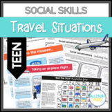 Social Skills Activities Speech Therapy TEEN Traveling Themed