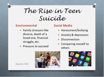 Teen Suicide Prevention Presentation