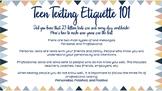 Teen Texting Etiquette 101: Effective Communication Tips
