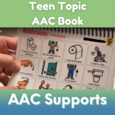 Teen Topic AAC Book