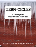 Teen-cicles (A Kindergarten Project Based Math Task)