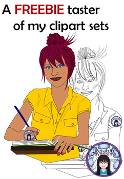 Teen and Teenagers Clip Art FREEBIE