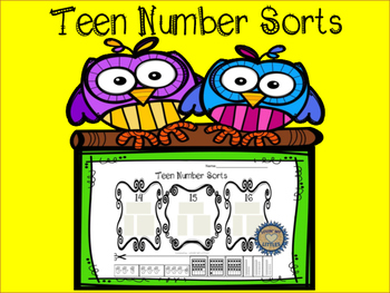 Teen number sorts