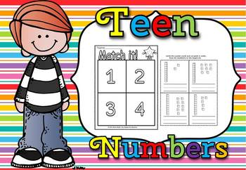Teen numbers sorting