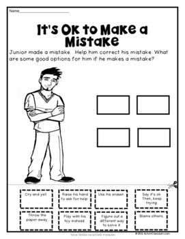 Crazy image pertaining to free printable social skills worksheets