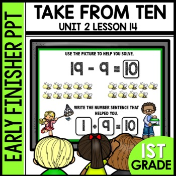 Teen subtraction EARLY FINISHER POWERPOINT