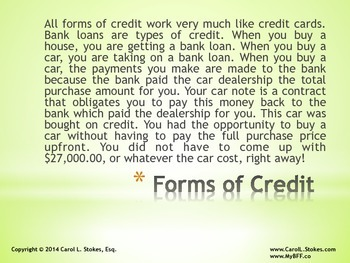 Teen-to-Adult Finance Introduction to Credit