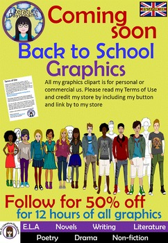 Teens and Teenagers Clip Art Set 2 - the guys