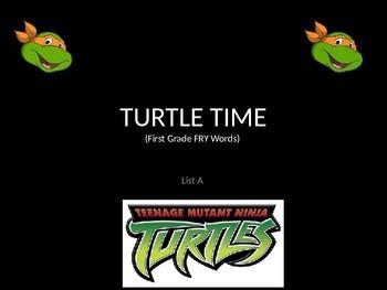 Teenage Mutant Ninja Turtle/Turtle Talk/FRY (Sight) Words/