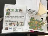 Teenage Mutant Ninja Turtles Desk Token Board and Choice Board