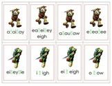 Teenage Ninja Mutant Turtles Vowel Digraphs Card Game