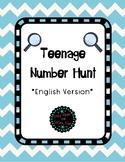 Teenage Number Hunt