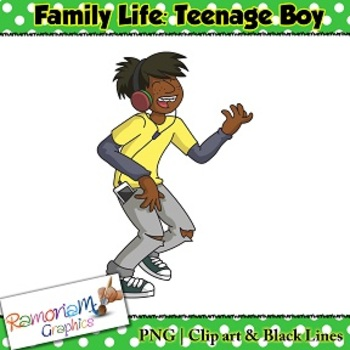 Teenage Clip art