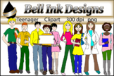 Teenager Clipart  ****GROWING BUNDLE****
