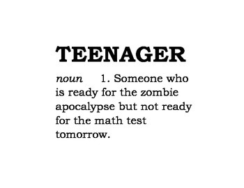 Teenager Definitions