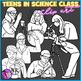 Teens in Science Class clip art