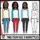 Teens Clip Art: Teenagers 13-18 Years Old