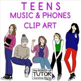 Clip Art TEENS {Teens clipart} {High school clip art}