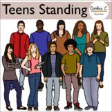 Teens Clip Art Set