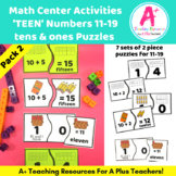 Teens Number Puzzles {11-19}