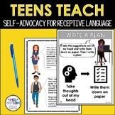 Teens Teach Self-Advocacy: Language Processing Disorder