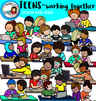 Teens Working Together