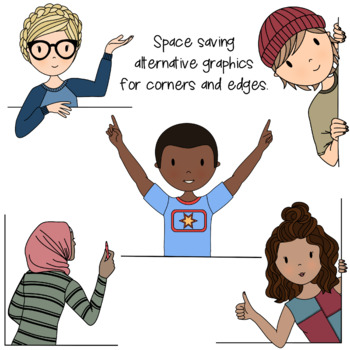Teens at School Volume 10 - Secondary Teen Clipart